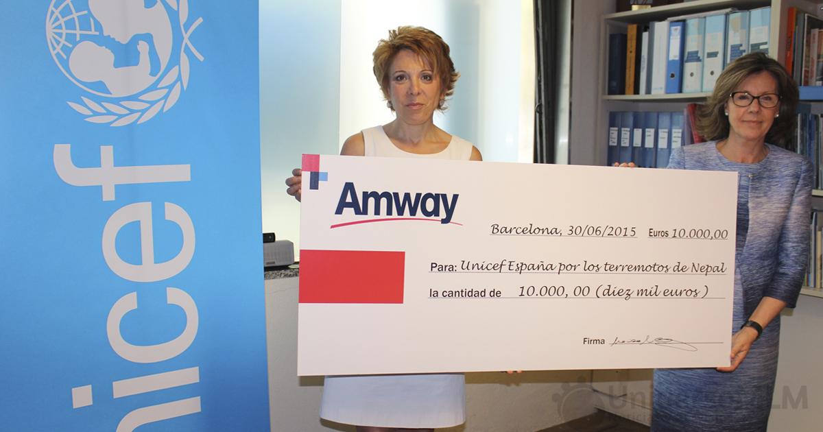 amway-unicef