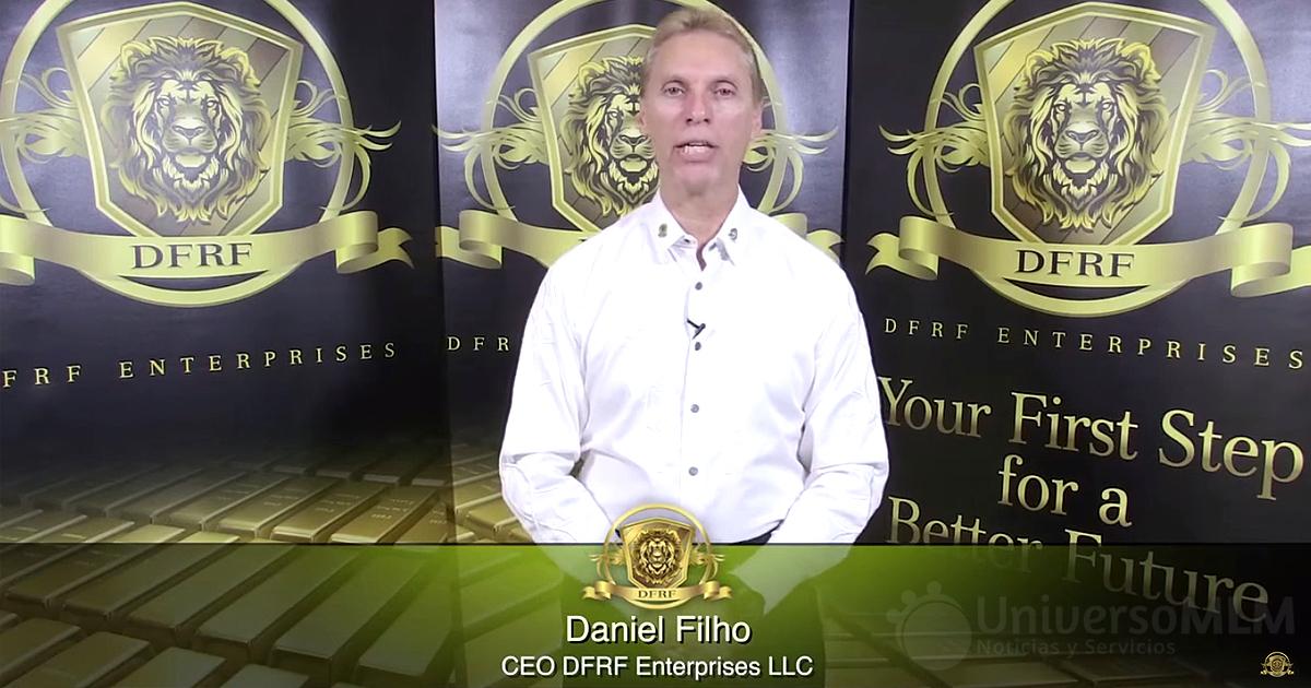 Daniel Fernandes, CEO y fundador de DFRF