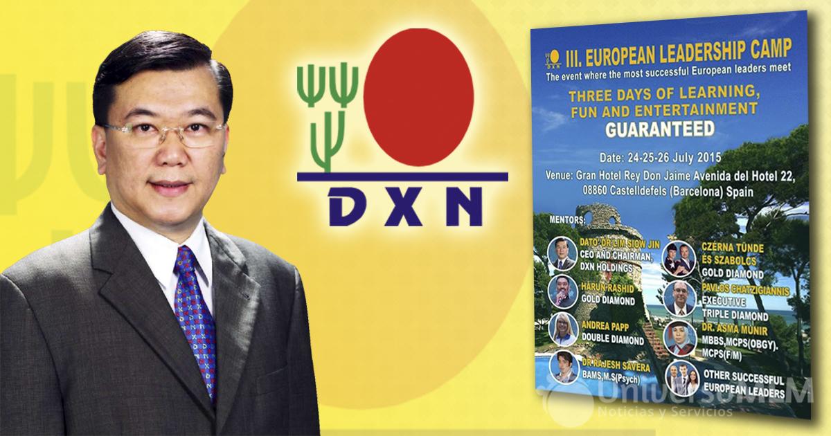 Lim Siow Jin, fundador de DXN