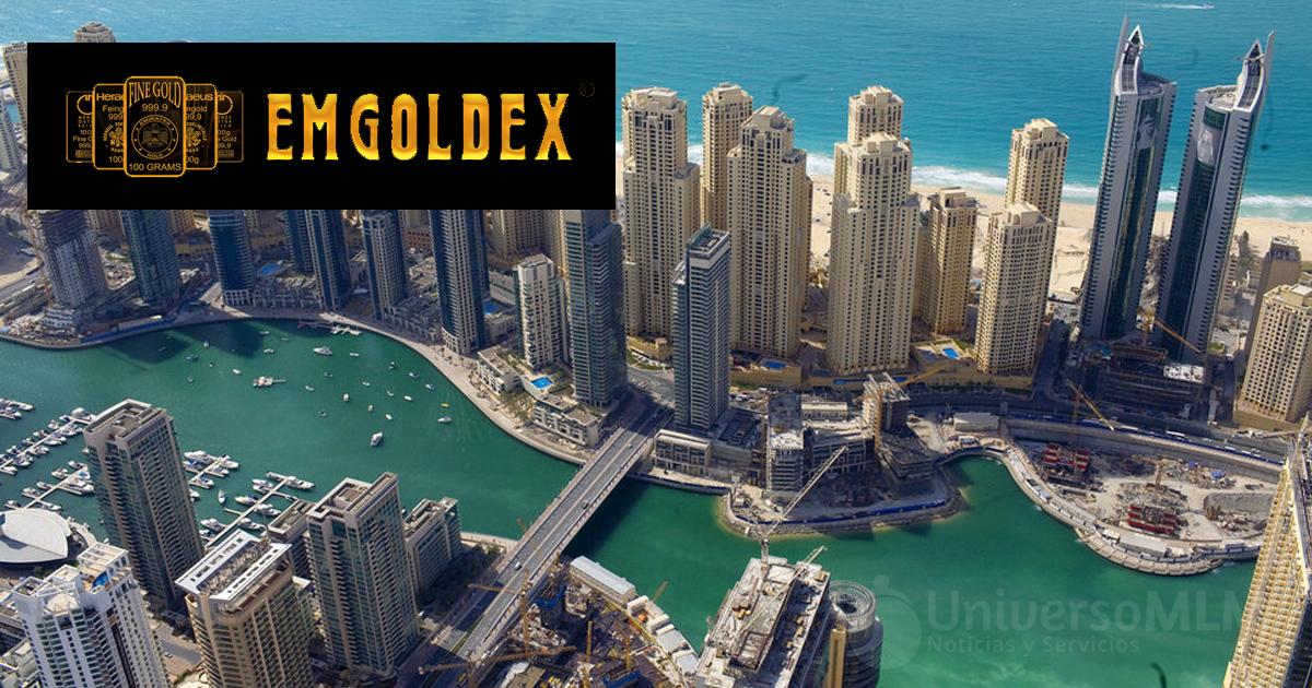 Emgoldex podría haber cambiado su nombre en Emiratos Árabes