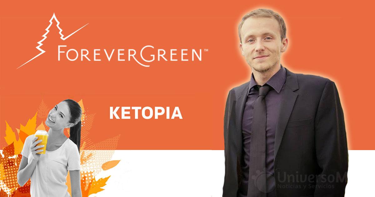 Kai Bleif, líder de ForeverGreen, presenta Ketopia