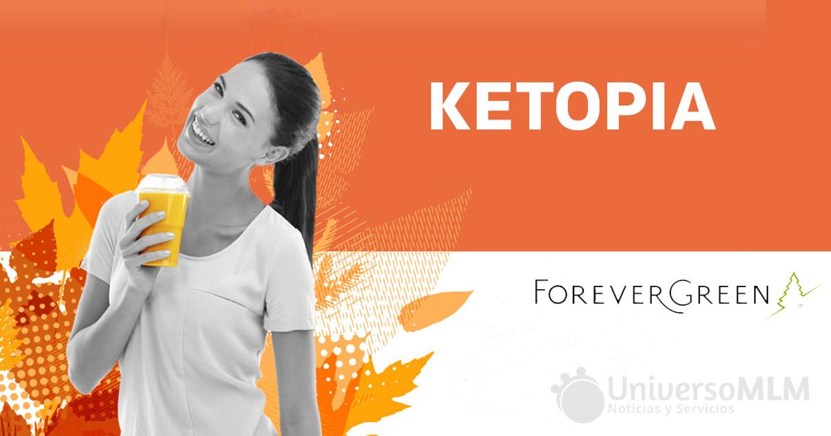 Ketopia se lanza al mercado el próximo 10 de julio