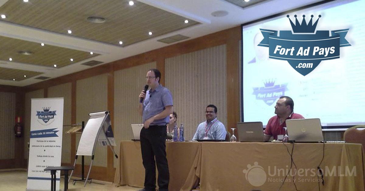 Josep Ángel Colomés, administrador de FAP, durante la Cumbre de Afiliados