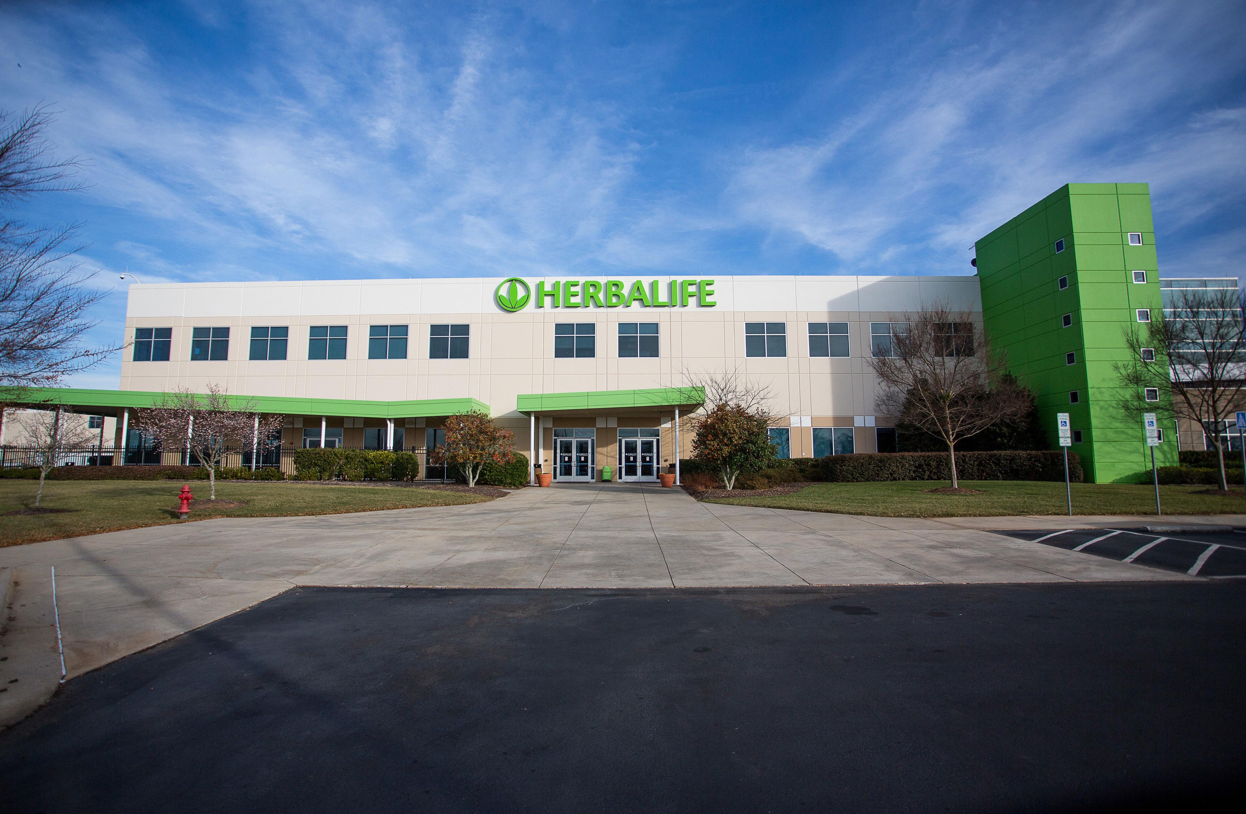 IMagen de la sede de Herbalife en Winston-Salem
