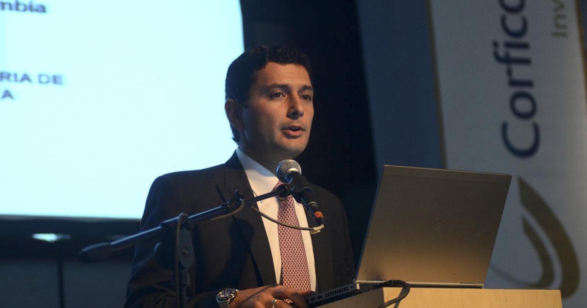 Jorge Castaño Gutierrez, superintendente colombiano
