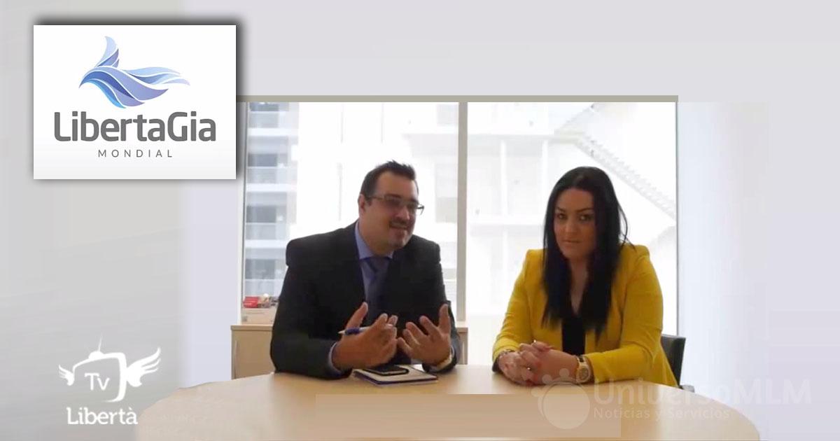 Rui Salvador y Cristina Vieira, CEO y Procuradora de LIbertaGIa