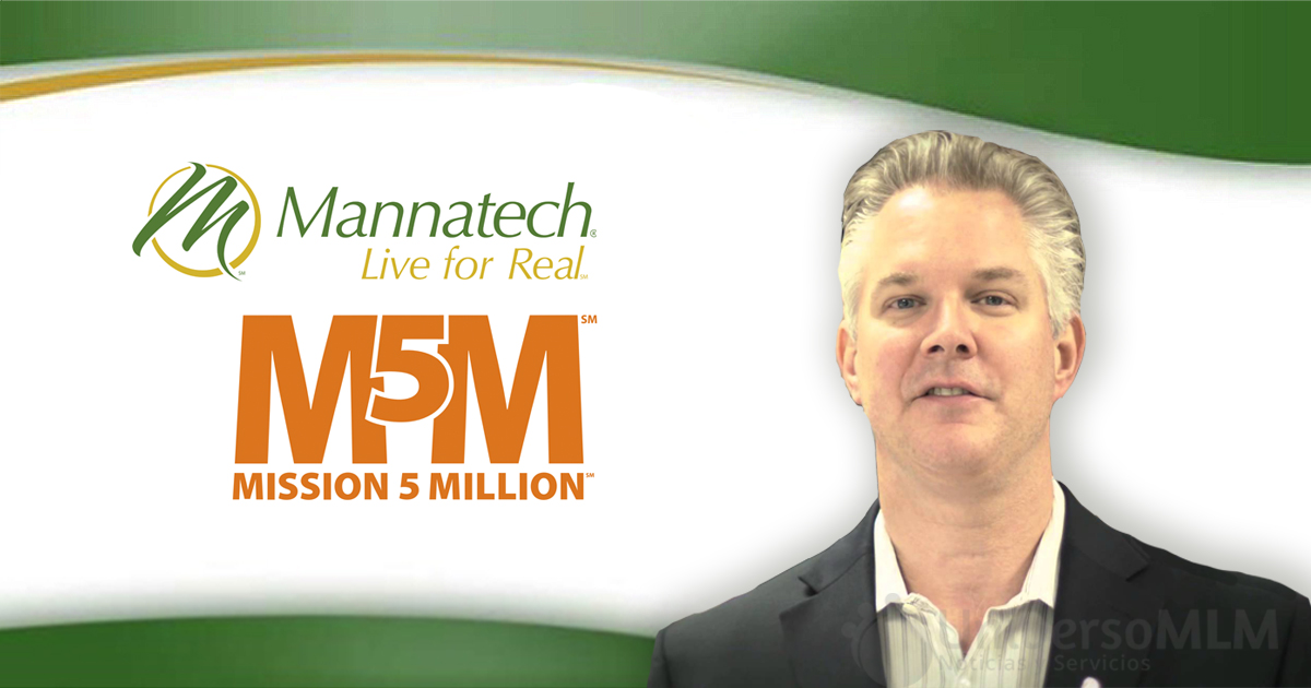 Robert Sinnot, CEO de Mannatech