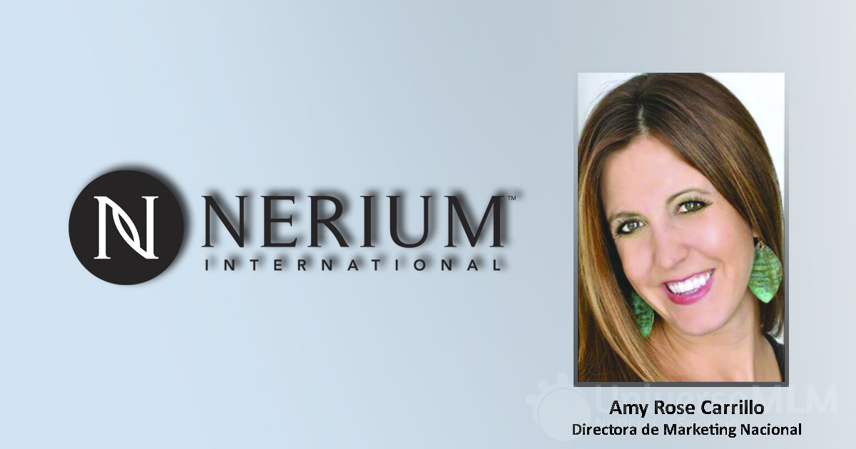 Amy Rose Carrillo, directora de Marketing Nacional de Nerium