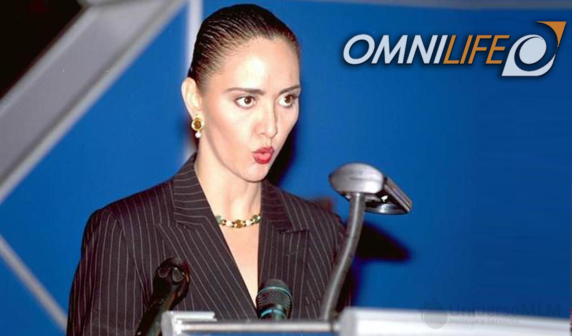 Angélica Fuentes vuelve a la presidencia del grupo Omnilife