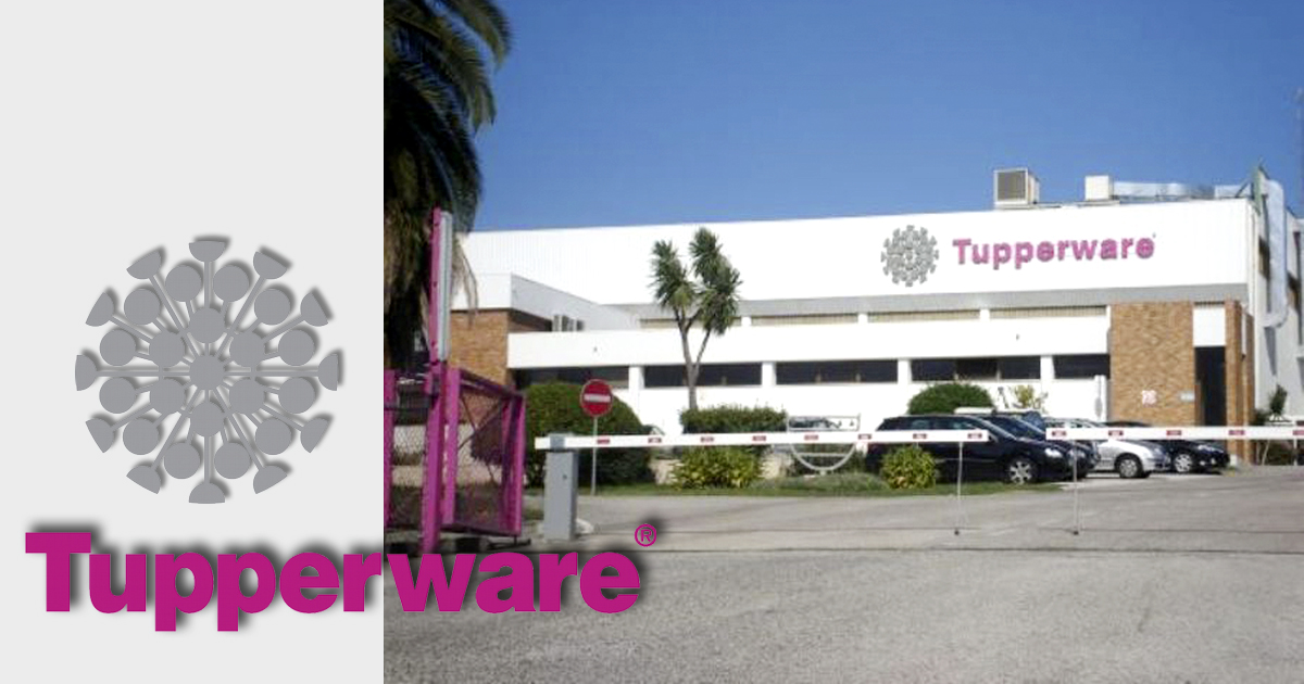 Fabrica de Tupperware en Portugal