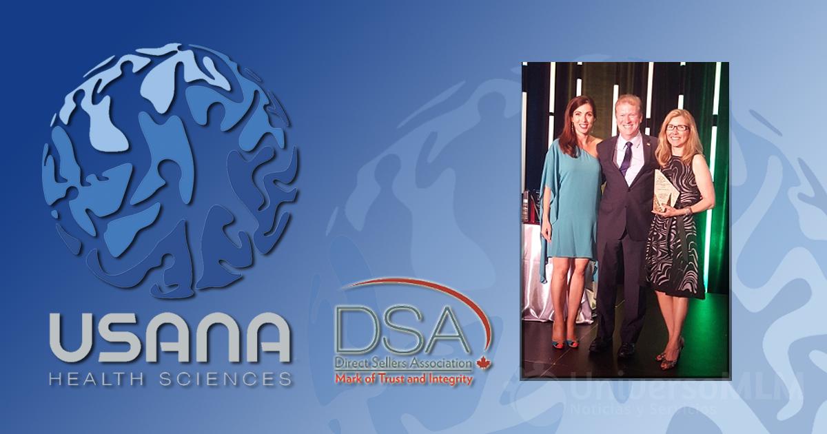 Usana premiada por la DSA en Canadá