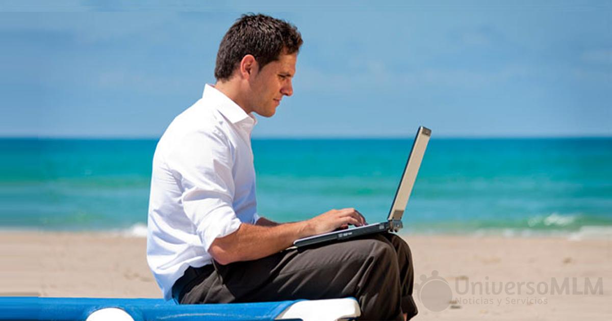 El trabajo MLM continúa en vacaciones