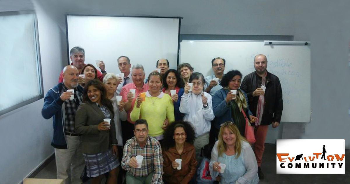 Foto de familia con Rafael Henares y los alumnos del curso