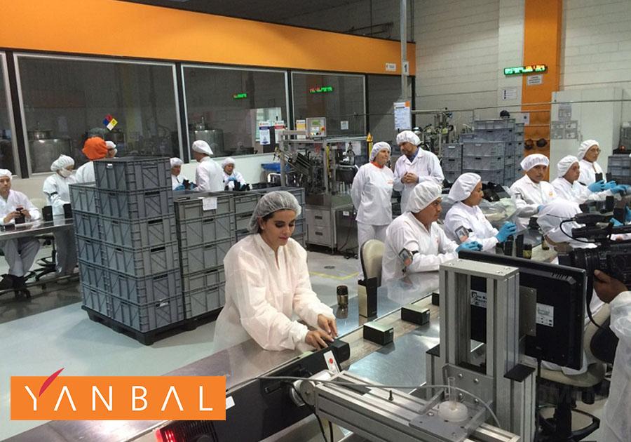 Planta de fabricación de Yanbal en Ecuador