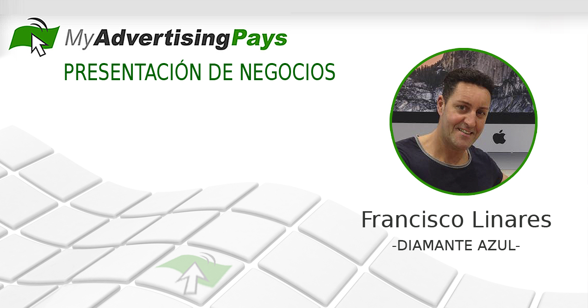 Francisco Linares, Diamante Azul de My Advertising PAys
