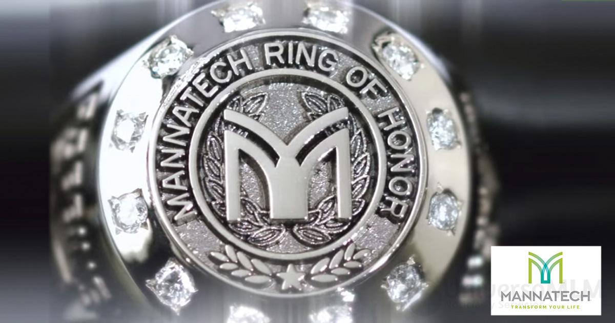 mannatech-anillo