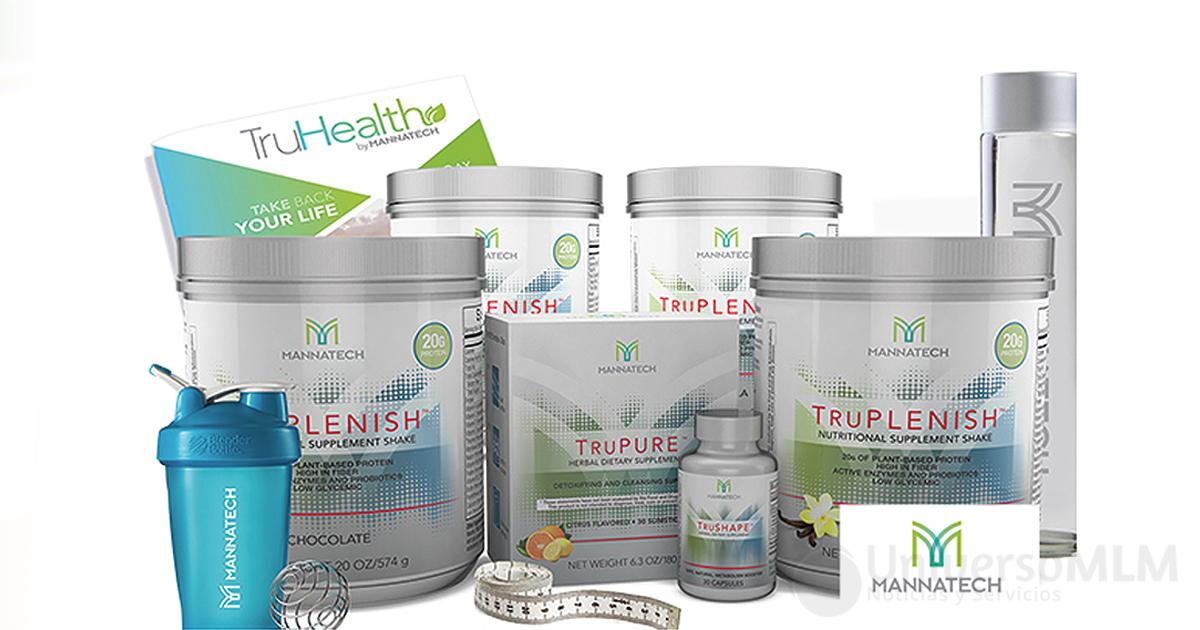 La gama de productos Mannatech para cuidar la salud