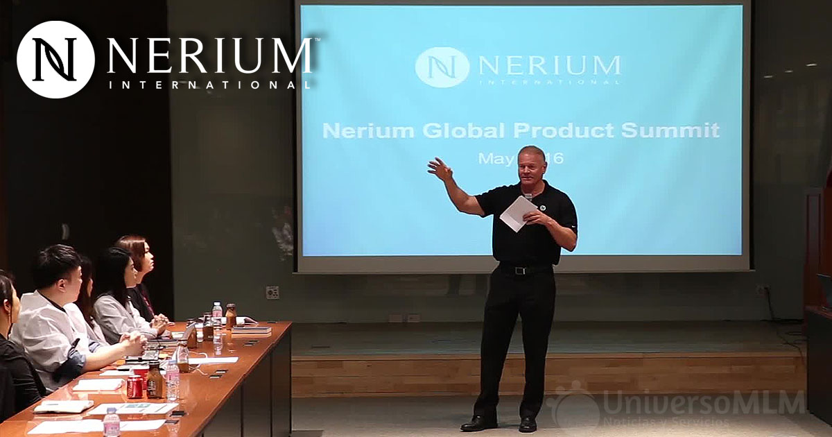 Jeff Olson, CEO de Nerium