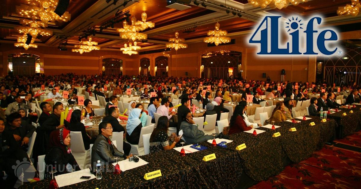 Imagen de un evento de 4LIfe en Asia