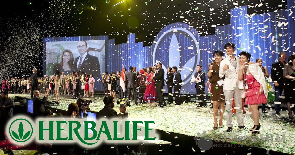 Extravaganza de Herbalife en Bangkok