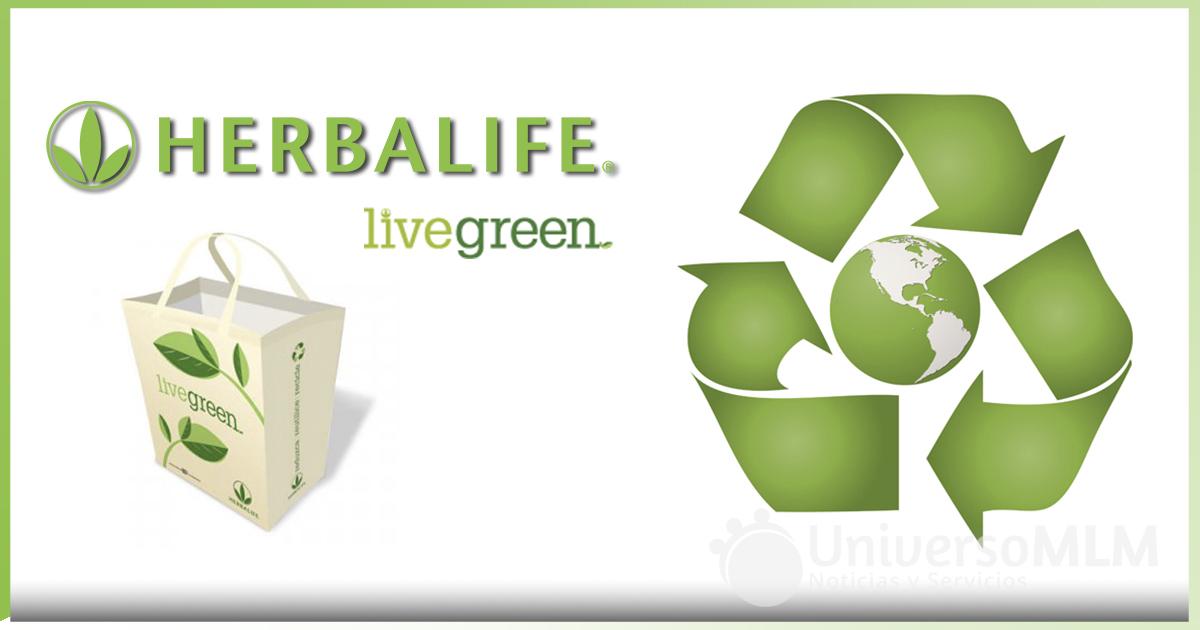 Programa LiveGreen de Herbalife