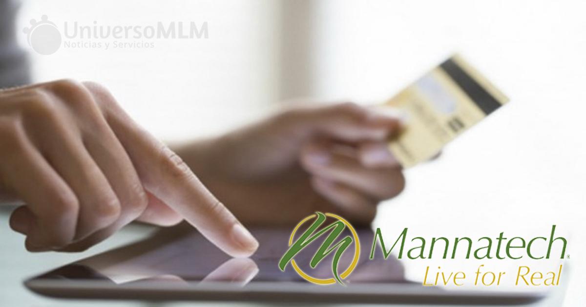 Mannatech habilita su monedero electrónico
