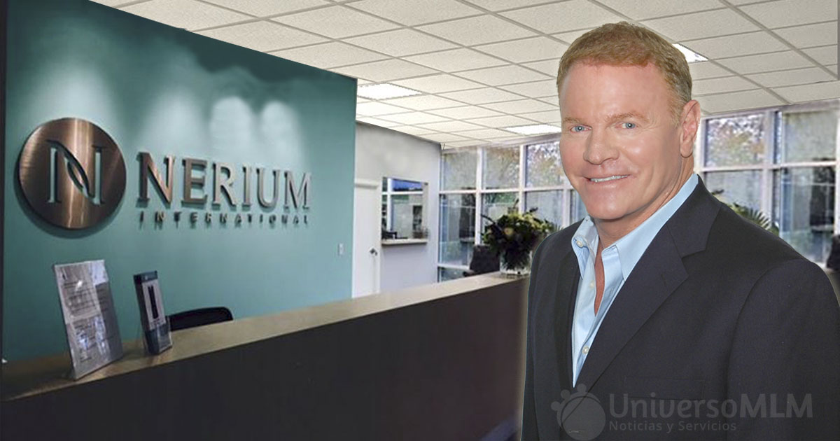 Jeff Olson, fundador y CEO de Nerium