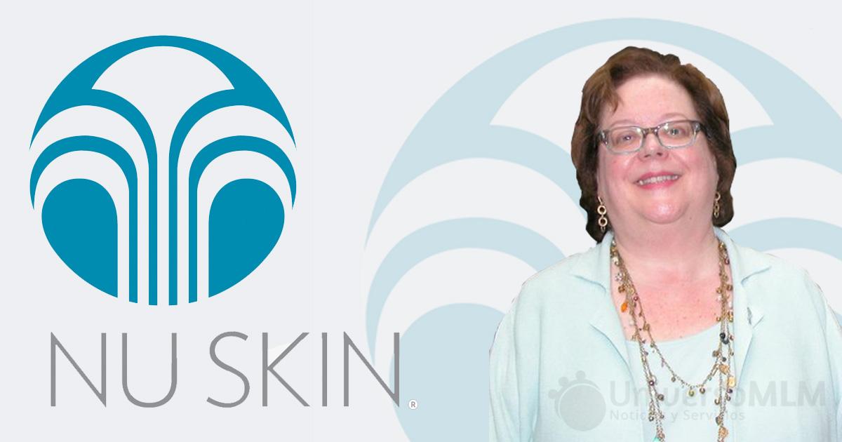 Edwina D.Woodbury, en Nu Skin