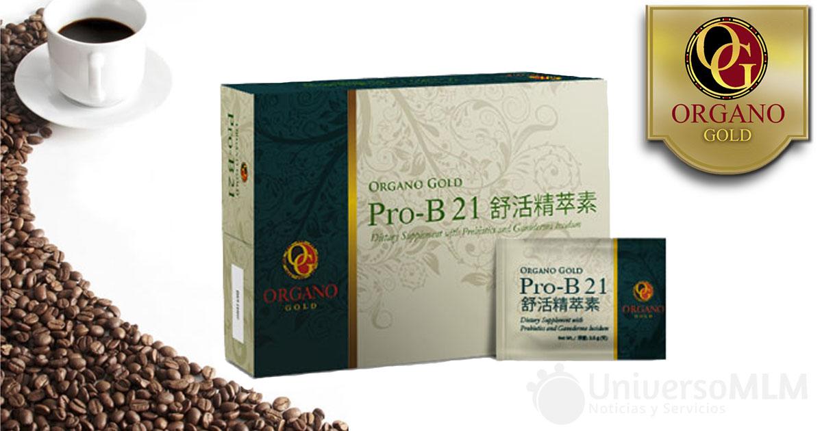 Pro-B21, nuevo producto de Organo Gold