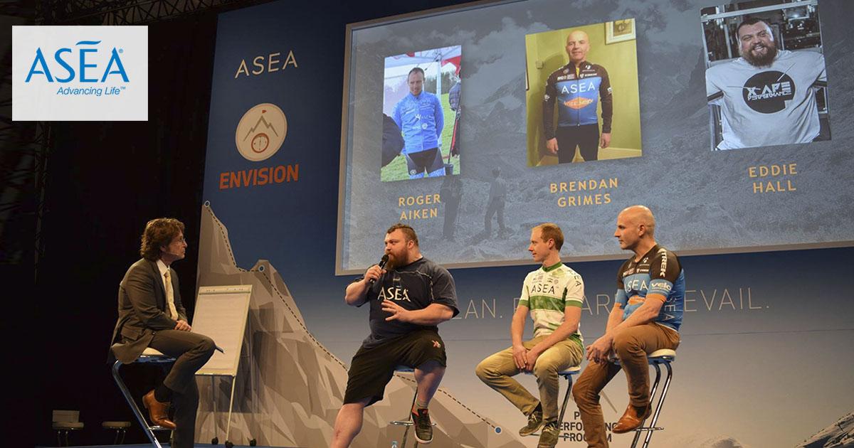 Atletas europeos en el Ethos Academy de ASEA en Munich