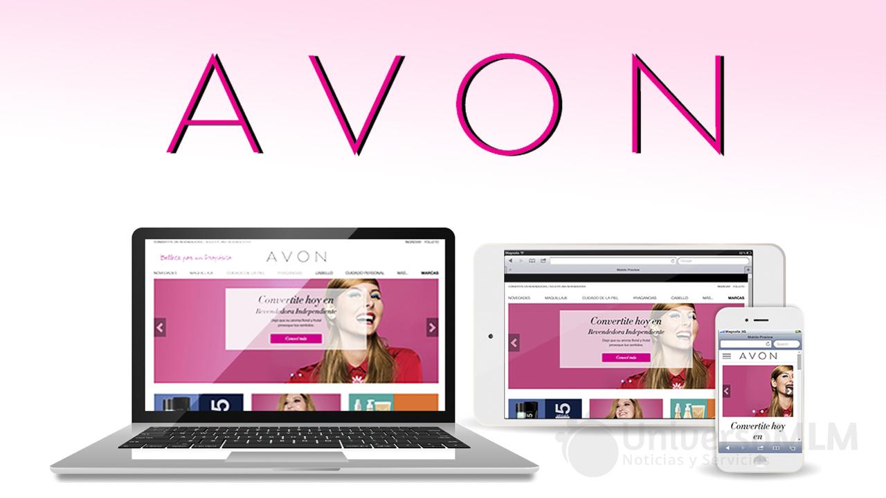 Avon Argentina renueva su sitio web