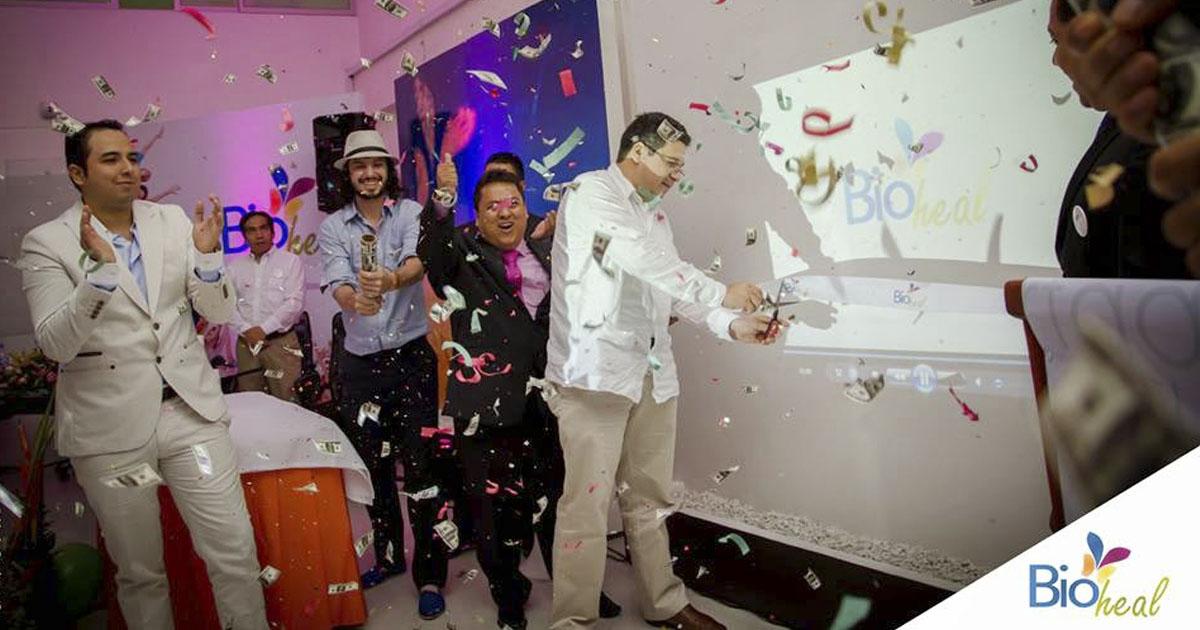 Fiesta de inauguración en BioHeal