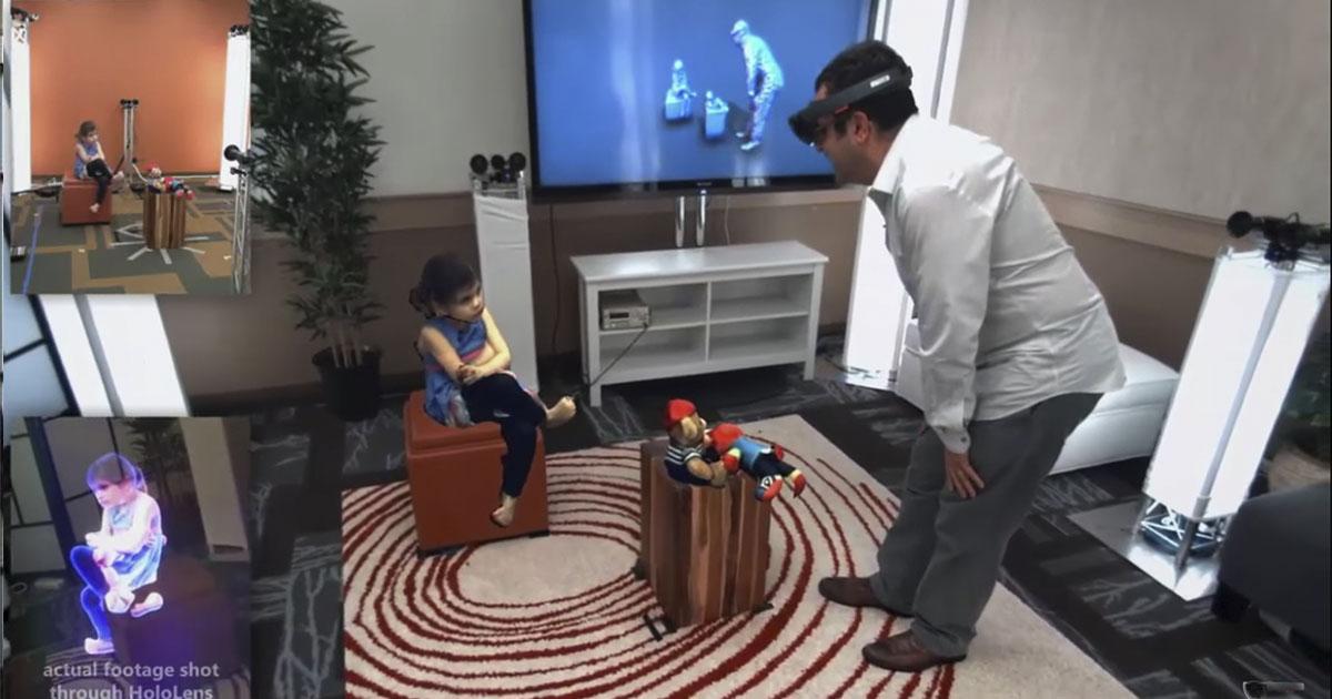 Holoportation, el nuevo proyecto de Microsoft relacionado con sus gafas virtuales