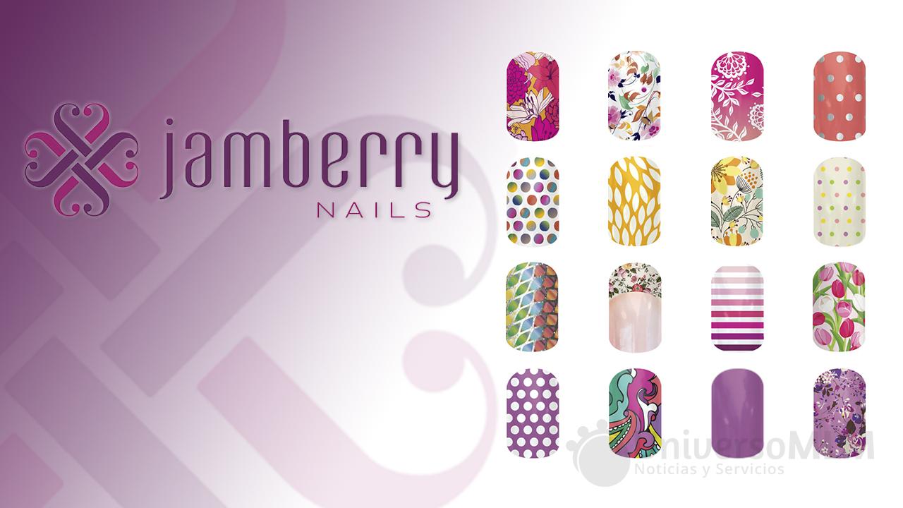 Pegatinas de uñas de Jamberry