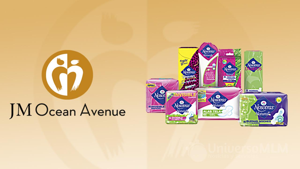 JM Ocean Avenue desprestigia las toallas higiénicas Nosotras
