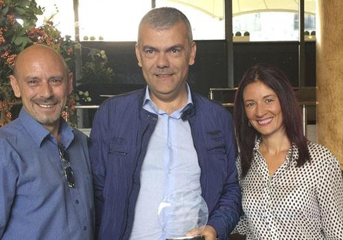 Lluis Fiol, Gonzalo Suárez y Esther Padilla