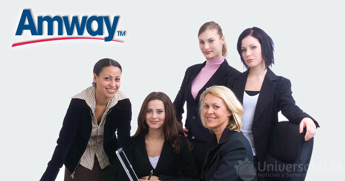 Amway revela datos sobre el carácter emprendedor de la mujer