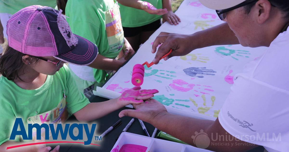 Niños de diferentes partes del mundo se sumaron a la iniciativa