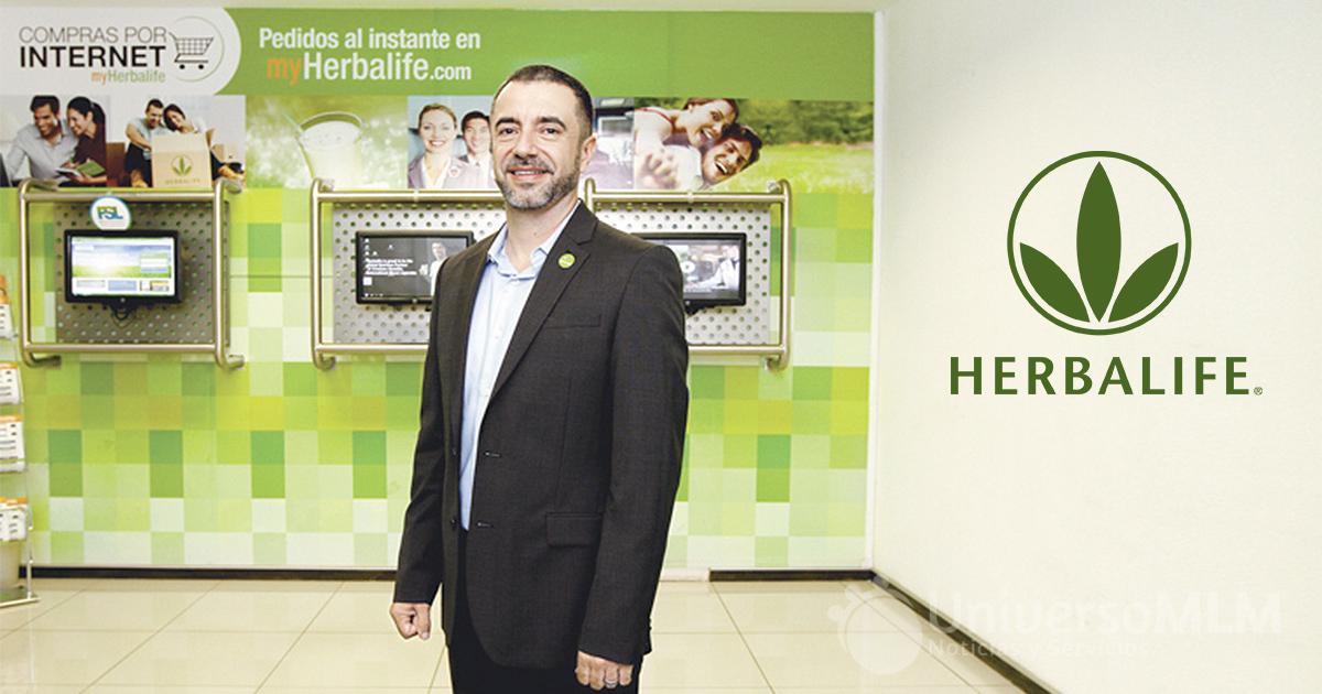 Fernando Sandoval, director general de Herbalife en Costa Rica
