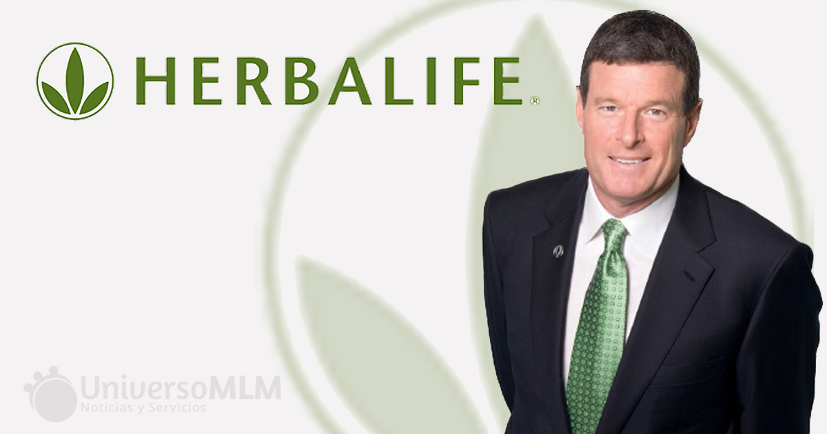 Michael O. Johnson, CEO de Herbalife