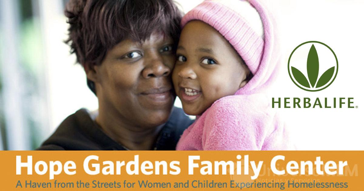 Herbalife patrocina el Centro Familiar para madres e hijos