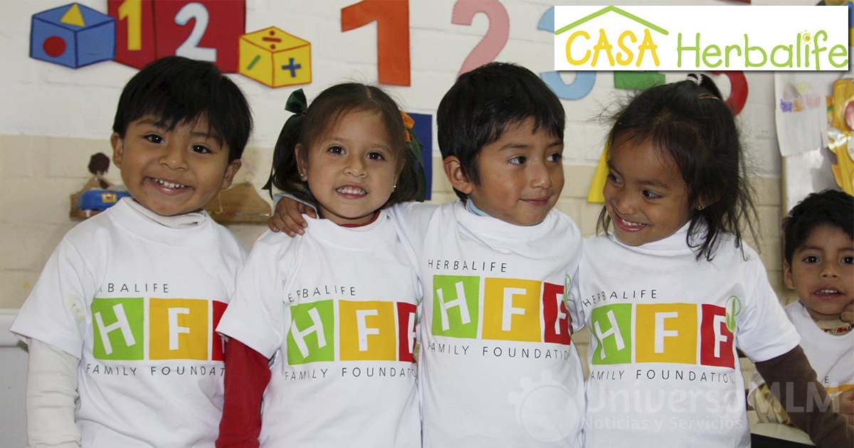Programa Casa Herbalife de la Fundación Familia Herbalife