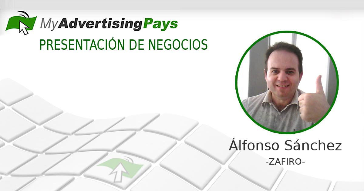 Alfonso Sánchez, Zafiro de My Advertising Pays