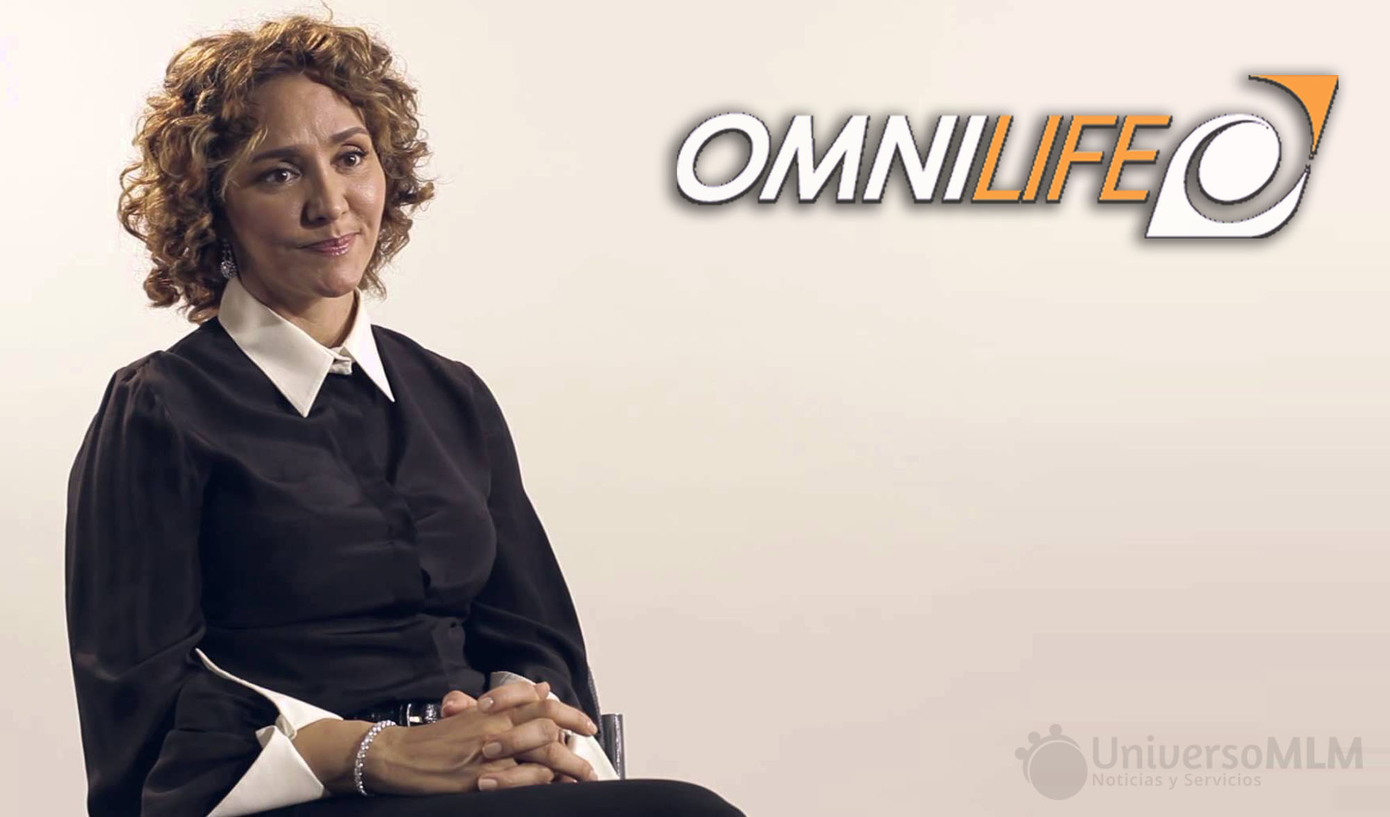 Angélica Fuentes, directora general de Omnilife
