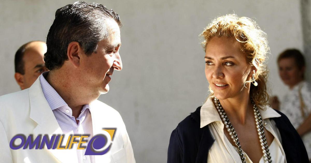 Jorge Vergara y Angélica Fuentes