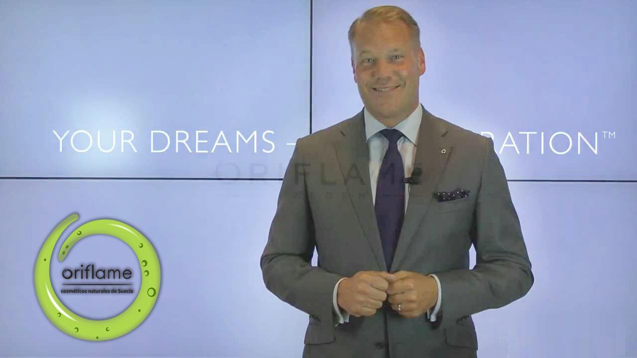 Magnus Brännström, CEO y presidente de Oriflame