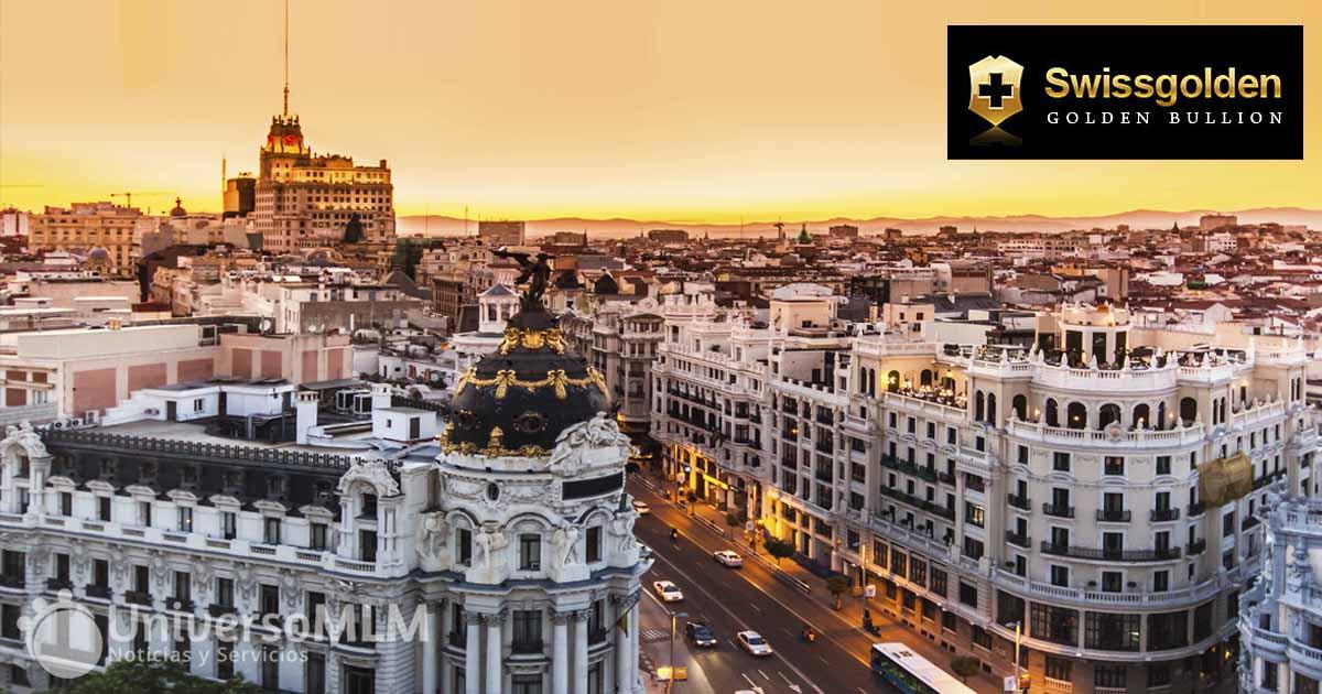 Madrid será la sede del evento de SwissGolden