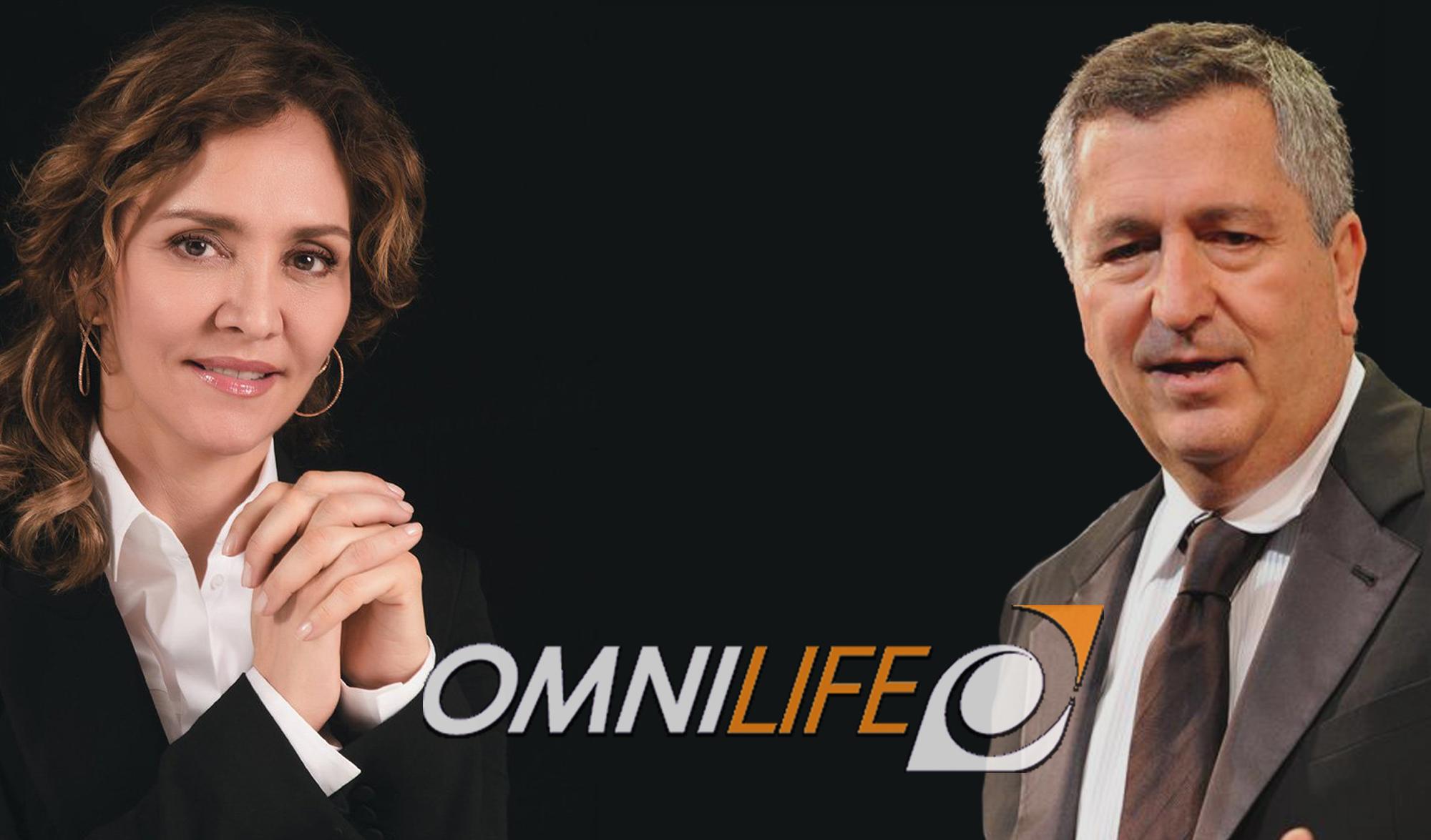 Angélica Fuentes y Jorge Vergara, directivos en Omnilife