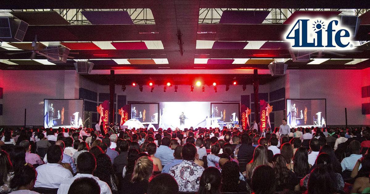 Más de 1200 colombianos en el evento de 4Life