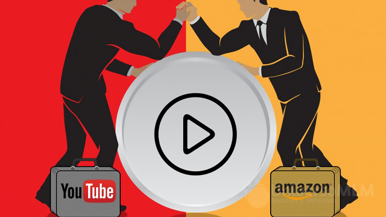 Amazon compite con YouTube